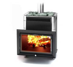 Печь для бани Витрувия II Carbon БСЭ ТО антрацит НВ