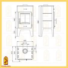 Печь-камин Пехорка 6