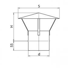 Зонт (430/0,5мм)