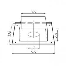 Потолочно-проходной узел составной (430/0,5)