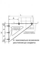 Консоль К4 (430/2 шт) L-500