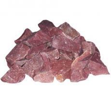 Камень Кварцит малиновый